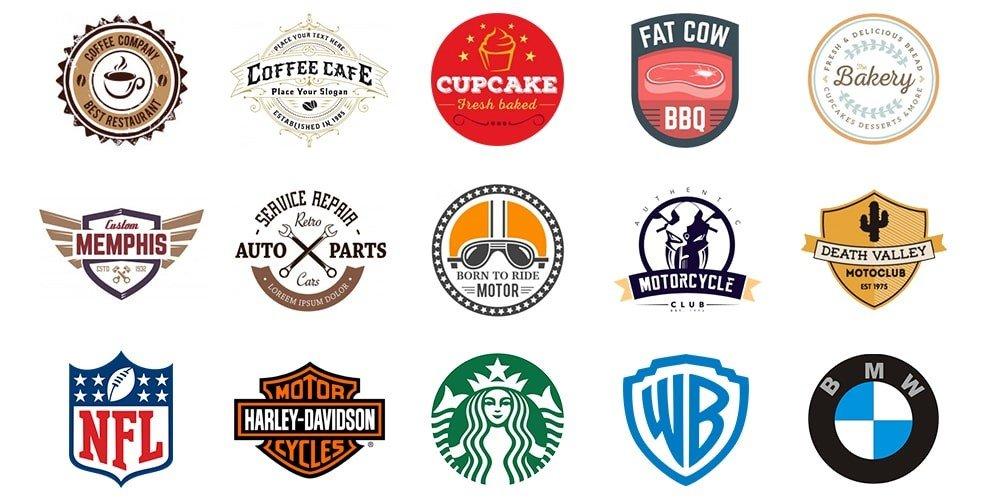 Tips dan Trik Mendesain Logo yang Baik dan Efisien lambang
